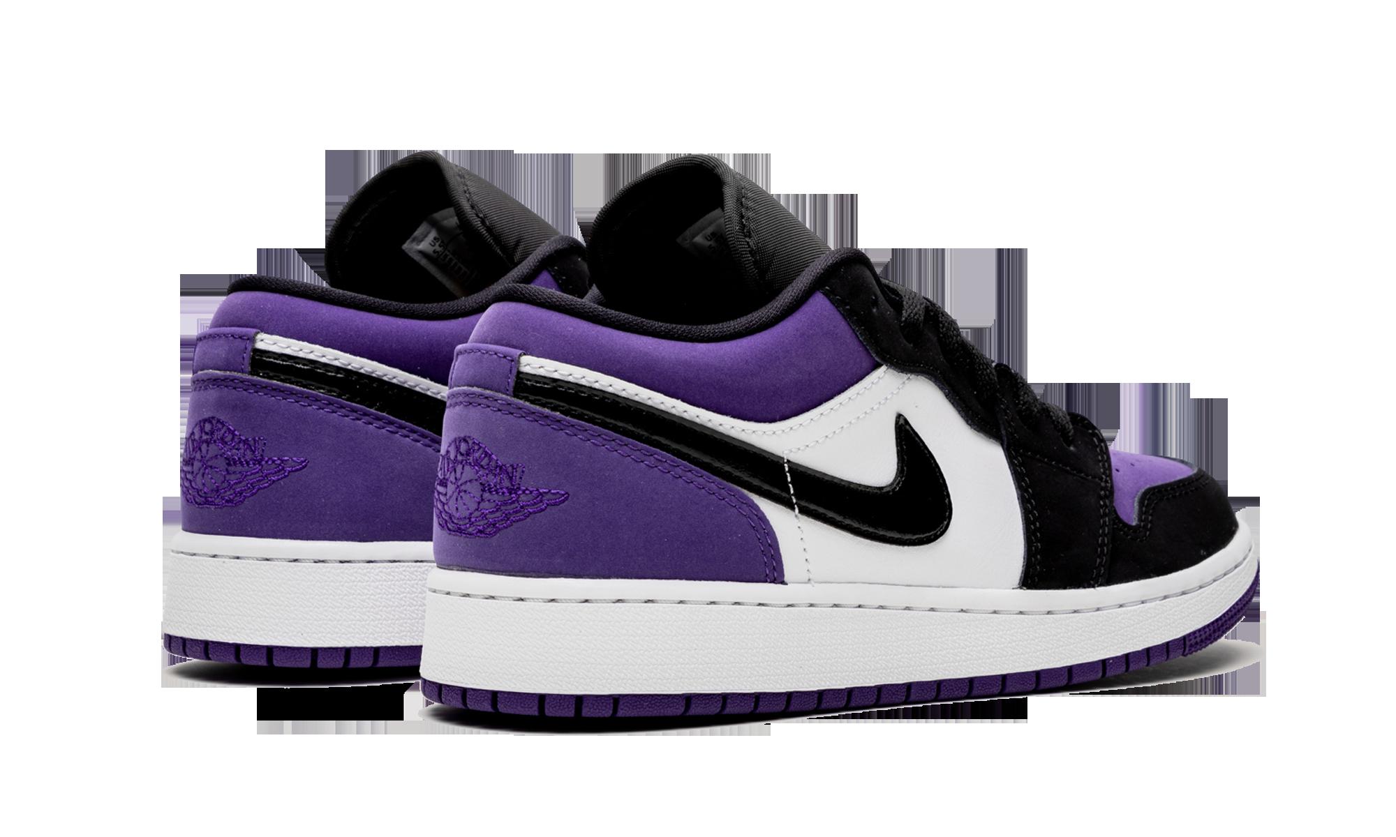"Air Jordan 1 Low GS ""Court Purple"" 553560-125"